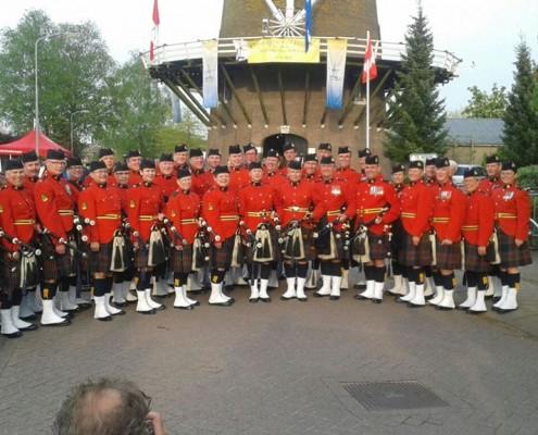 RCMP Pipes en Drums