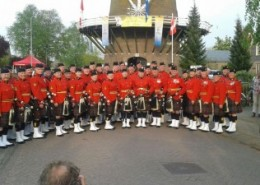 RCMP Pipes en Drums