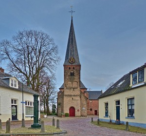 De dorpskerk in Wilp is een prachtige locatie voor ons allereerste 'Allerzielen'.